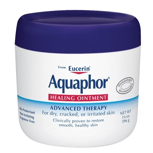 Aquaphor Aquaphor Healing Ointment  Advanced Therapy, 14-Ounce Jars (Pack of 2)