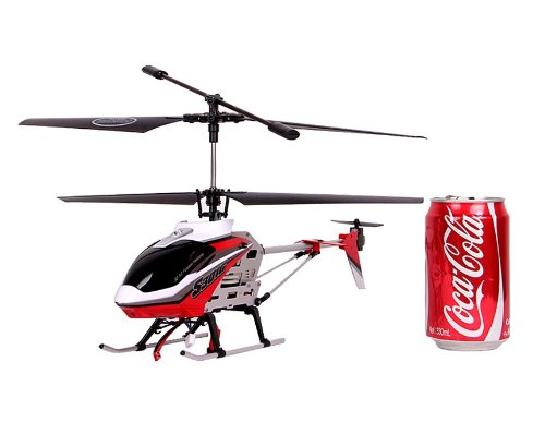 SYMA S301G 3.5-Channel Metal RC Helicopter with Gyroscope (Red) + Worldwide free shiping