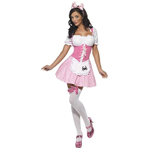 [GSG Miss Muffet Costume Adult Halloween Fancy Dress] (Little Miss Muffet Outfit)