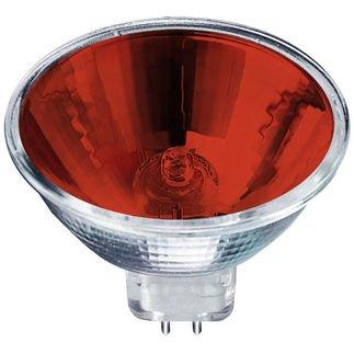 Cbconcept® 3Xmr1675W-R Red Color Halogen Light Bulb Mr16 12Volt 75Watt - 3 Bulbs