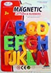 Capital Magnetic Letters Alphabet Set