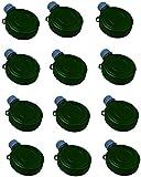Green Mini Plastic Canteen Toys - 6 oz