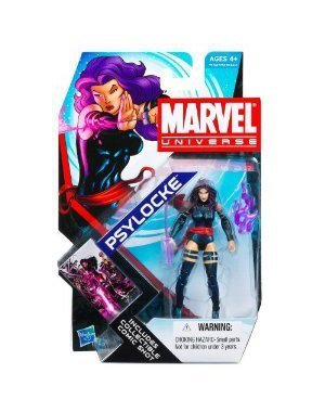 Marvel Universe 3 3/4 Inch Series 4 Action Figure Psylocke by Hasbro (Psylocke Marvel Universe compare prices)