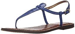Sam Edelman Women\'s Gigi Gladiator Sandal, Sailor Blue, 8.5 M US