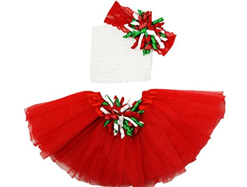 Wholesale Princess Tutu Gift Set Red, Green and White