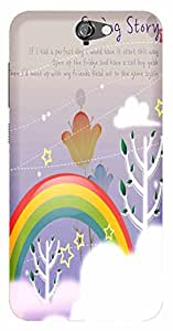 WOW Printed Designer Mobile Case Back Cover For HTC One A9