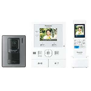 パナソニック(Panasonic) ワイヤレス子機付 テレビドアホン 録画機能付 VL-SWD210K