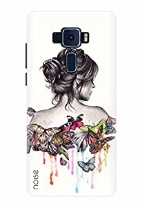 Noise Designer Printed Case / Cover for ASUS ZENFONE 3 ZE520KL 5.2 Inch screen size / Patterns & Ethnic / Butterflies Design