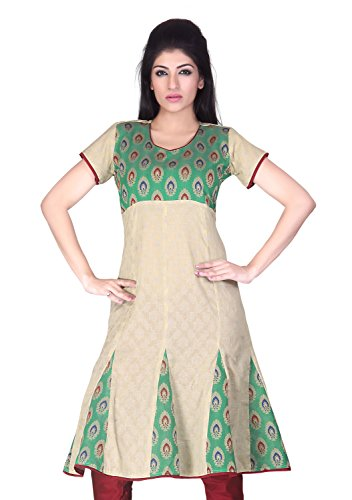 Lifestyle Lifestyle Retail Women Anarkali Kurta (Multicolor)