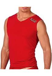Gregg Homme Men's Supple Microfiber V-Neck Muscle Shirt