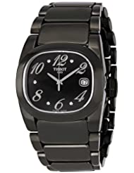 Tissot Women's T009.310.11.057.01 T Moments Black PVD Stainless Steel Watch