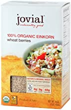 Jovial Organic Einkorn Wheat Berries Buy TWELVE and SAVE per Box Cost Each Box is 16 Ounces Pack of