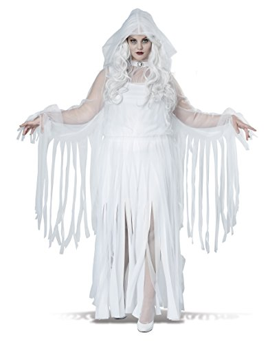 Ghostly Haunting Spirit Adult Women Plus Size Costume