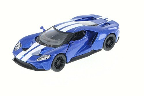 2017 Ford GT, Blue - Kinsmart 5391DF - 1/38 Scale Diecast Model Toy Car (Ford Gt Model compare prices)