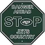 Fremont Die Consumer Products F90539 Styrene Stop Sign - New York Jets