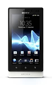 Sony Xperia sola Smartphone (9,4 cm (3,7 Zoll) Touchscreen, 5 Megapixel Kamera, Android 2.3) weiß