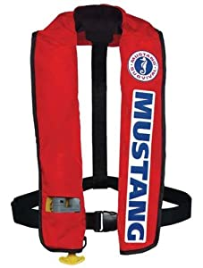 Mustang MD3087 Deluxe Inflatable PFD (Auto Activation) Bass Competition by Mustang Survival