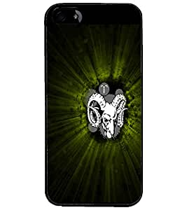 PrintDhaba Animal Image D-4739 Back Case Cover for APPLE IPHONE 4 (Multi-Coloured)
