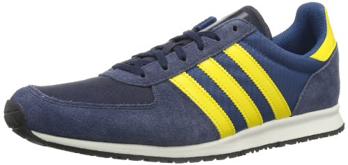Adidas Originals Mens Adistar Racer Trainers D65677 Legend Ink/Tribe Yellow/Tribe Blue 4.5 UK, 37 EU