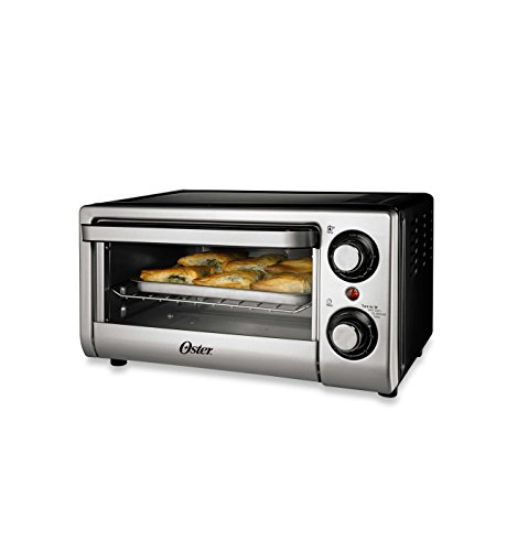 Oster® TSSTTVSM9L 4-Slice Toaster Oven in Silver (Microwave Toaster Oven In One compare prices)