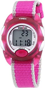 Timex Ironman Children's Digital Watch with LCD Dial Digital Display and Multicolour Nylon Strap T7B9804E