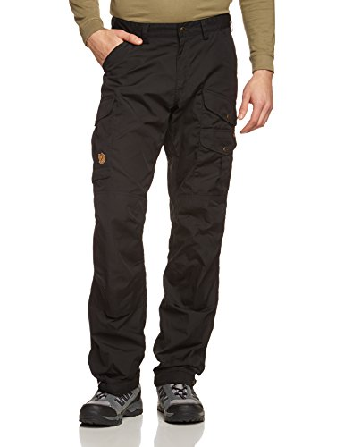 Fjallraven Men's Vidda Pro Trousers Long, Black, 46