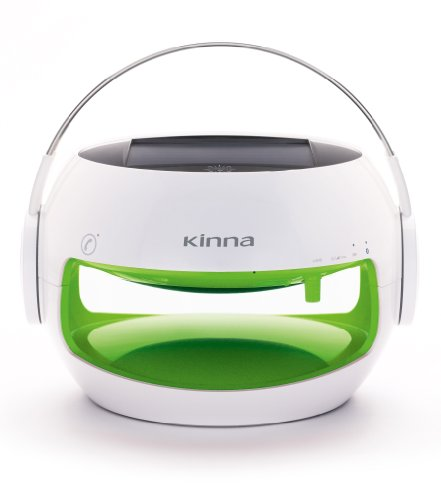 Kinna Portable Bluetooth Speaker For Lady And Girl,Cute,Solar Powered,Waterproof Ip44,10Hours Battery(Green).By Gemini Doctor