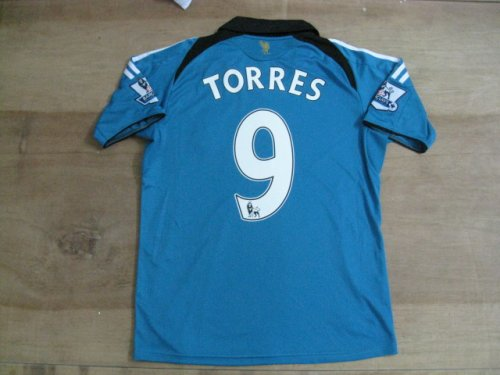 08-09 LIVERPOOL JERSEY TORRES NEW WITH TAGS + FREE SHORT (SIZE M)
