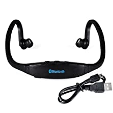 buy Iegeek® High-Definition Wireless Bluetooth Headphones Sports Headset For Iphone 4 4S 5S Samsung Htc Smartphone (G02-Black)