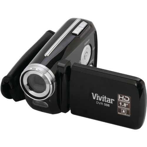 Vivitar DVR508N-BLK 5.1MP Digital Camcorder