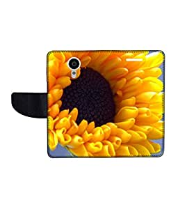 KolorEdge Printed Flip Cover For Gionee Elife E7 Multicolor - (55KeMLogo09265GioneeE7)
