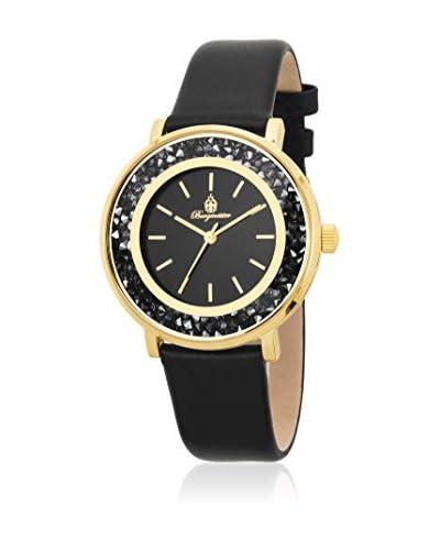 Burgmeister Reloj de cuarzo 537-222 Negro 36  mm