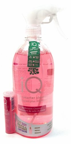 Iq the Smarter Cleaner Bathroom Cleaner Nectarine Plum Includes Your First Refill Cartridge 700 Ml (1 Each)