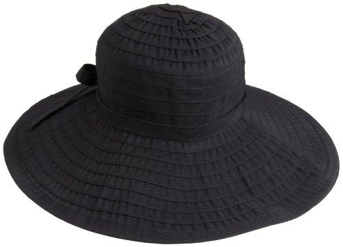 san-diego-womens-ribbon-large-brim-hatblackone-size
