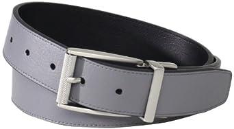 nike golf mens classic reversible belt gray
