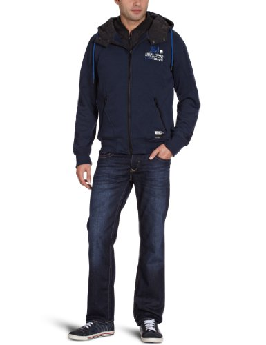 Jack and Jones Jackson Men's Sweatshirt Navy Blue X-Large