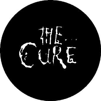 "Amazon.com: The Cure - Disintegration Logo - 1"" Button / Pin: Clothing"