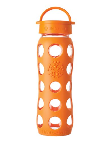Lifefactory 22-Ounce Beverage Bottle, Orange