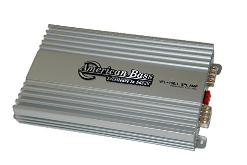 American Bass VFL100.1 - 1 Channel 3000W AMP 1 OHM Stable Class D 1500W RMS