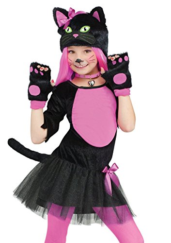 Miss Kitty Cat Kids Costume