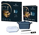 Emile Henry Natural Chic Foie Gras Gift Set - Blue