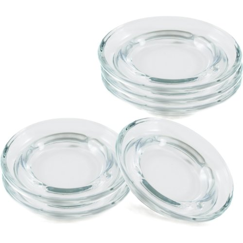 Anchor Hocking Glass Safety Stacking Ashtray, Set of 6 (Soda Can Ashtray compare prices)