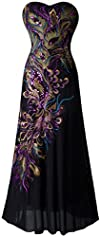 Angel-fashions Women's Embroidery Pai…