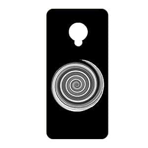 Vibhar printed case back cover for Micromax Canvas Spark Q380 BlackSpir