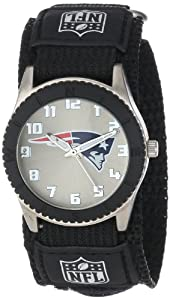 Game Time Mid-Size NFL-ROB-NE Rookie New England Patriots Rookie Black Series Watch