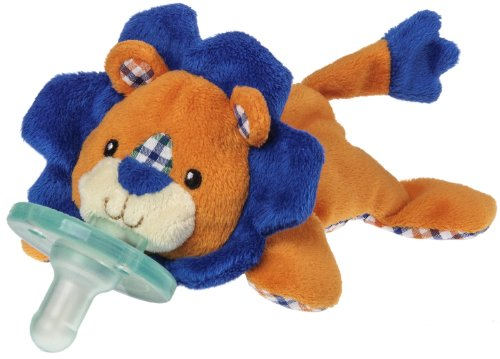 WubbaNub 赤ちゃんのぜいたくおしゃぶり ライオンさん