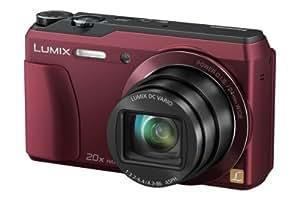Panasonic DMC-TZ56EG Appareil Photo Numérique Compact 16 Mpix zoom 20 x Wi-Fi Rouge