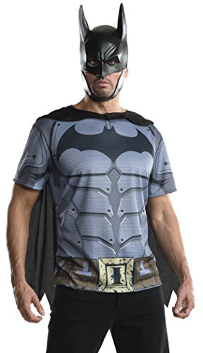 Men's Batman Arkham City Adult Batman Top - S, M, L, XL
