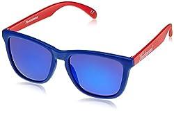 Knockaround Wayfarer Sunglasses (Blue and Red ) (PRGL1078 52)