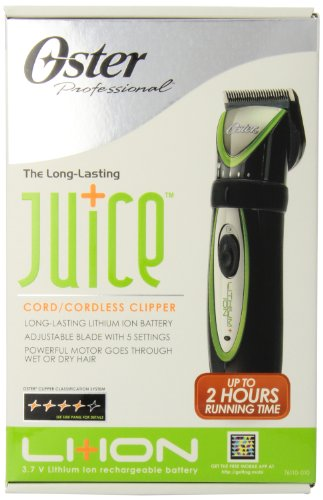 Oster Juice Cord/Cordless Clipper (76110-010) (Oster Cordless compare prices)